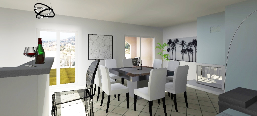 décoration 3D salle à manger ad-archideco